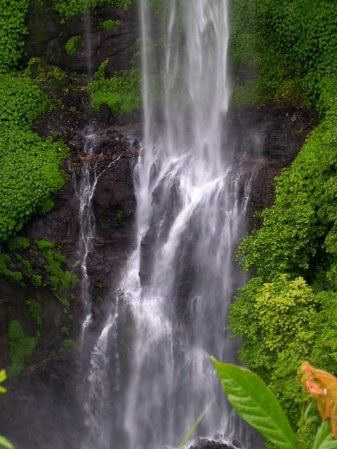 chute d'eau ile bali nature