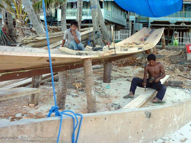 construction bateau sulawesi artisans
