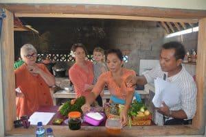 cours de cuisine bali activité locale