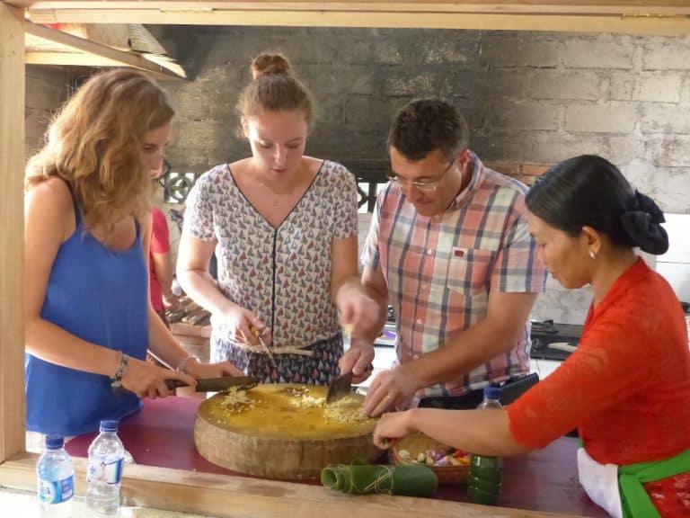 cours de cuisine local bali