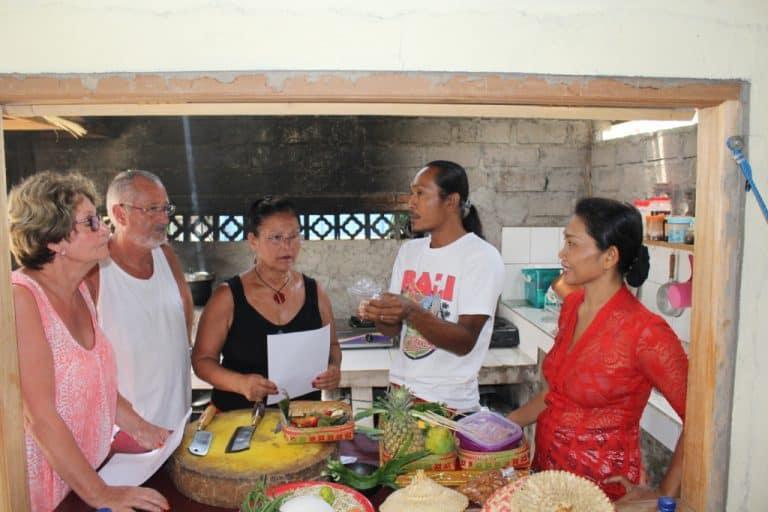 cours de cuisine balinais activité locale bali