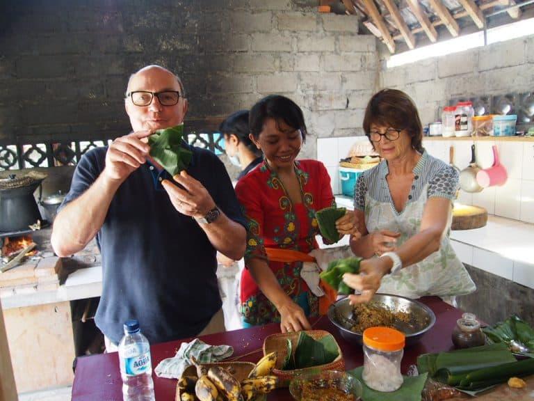 Cours de cuisine activité bali indonésie