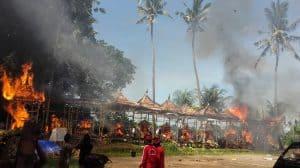 crémation culture balinaise indonésie