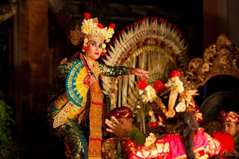 spectacle danse balinaise palais ubud