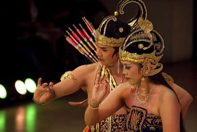 danse locale javanaise indonésie