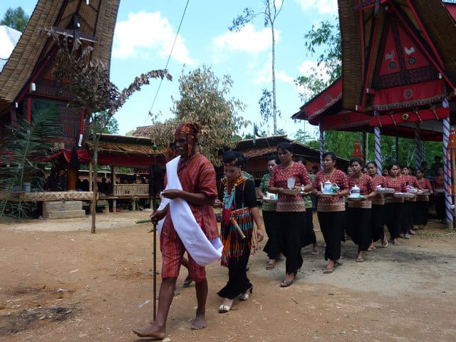 sulawesi deroulement ceremonie funeraire toraja