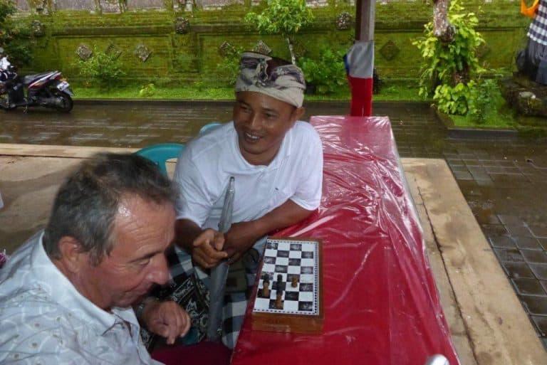 activités bali jeu d'échecs