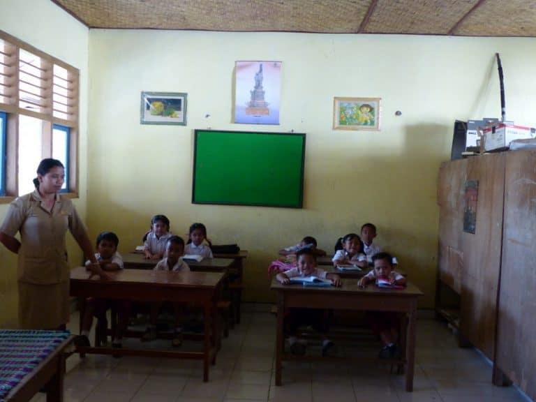 école balinaise enfants découverte