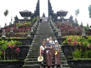 besakoh temple famille en vacances tourisme bali