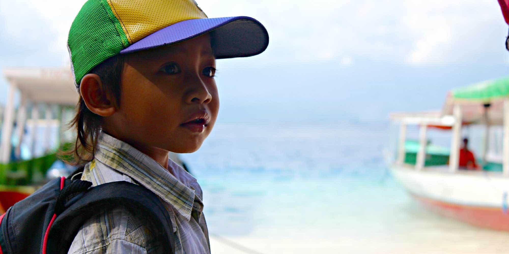 portrait enfant indonésien