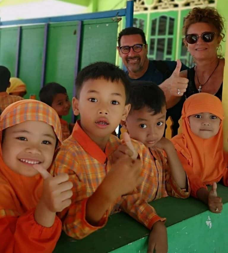 enfants javanais indonesie