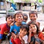 enfants lombok sourire rencontre