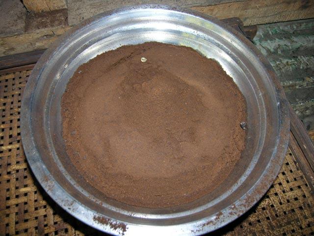 fabrication café ile bali indonesie café moulu