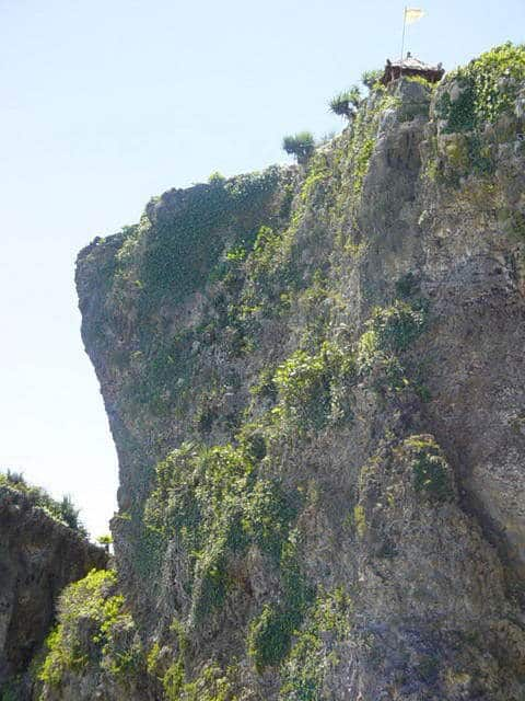 falaise java gunung kidul paysage