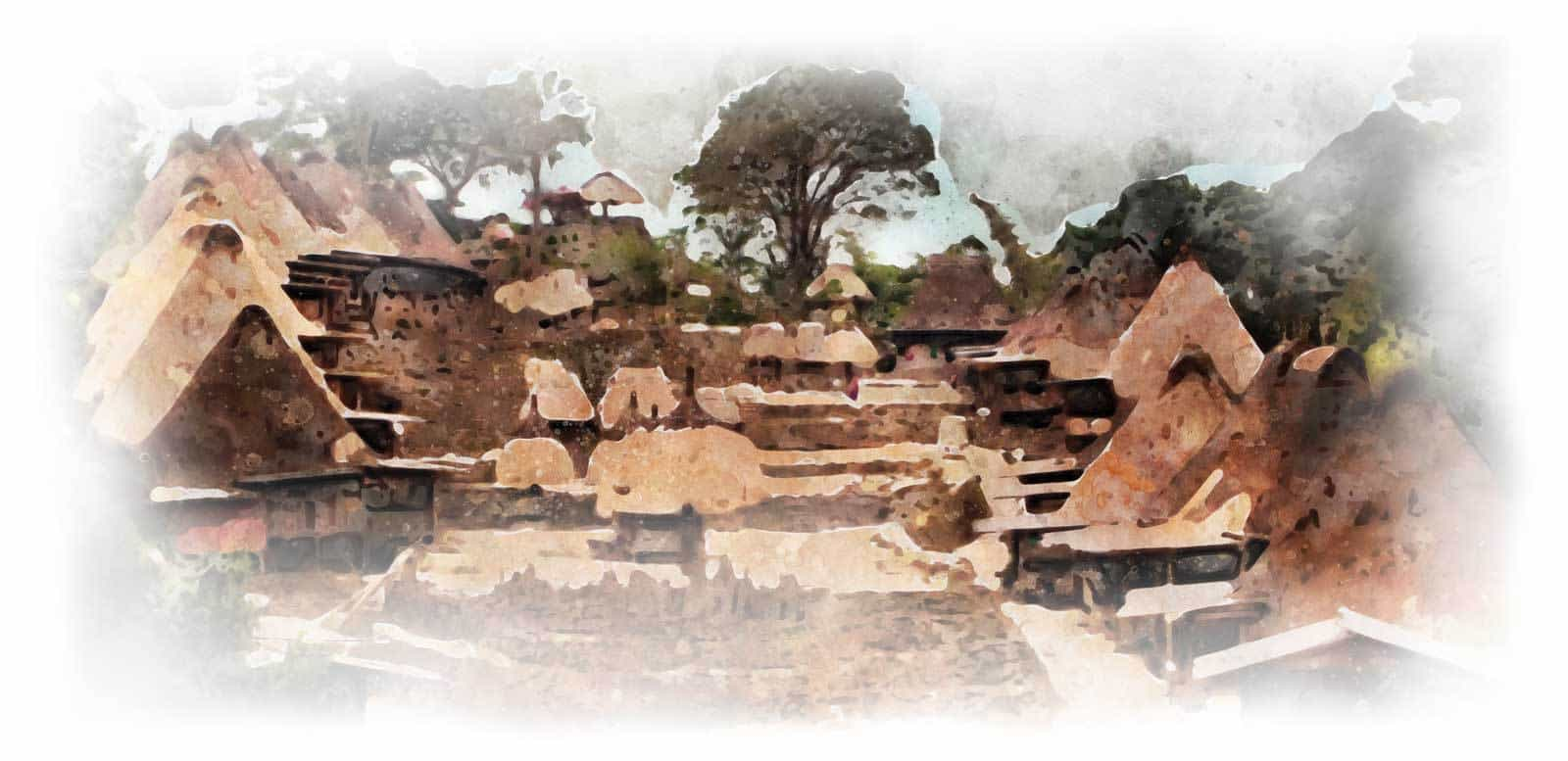 voyage Flores village