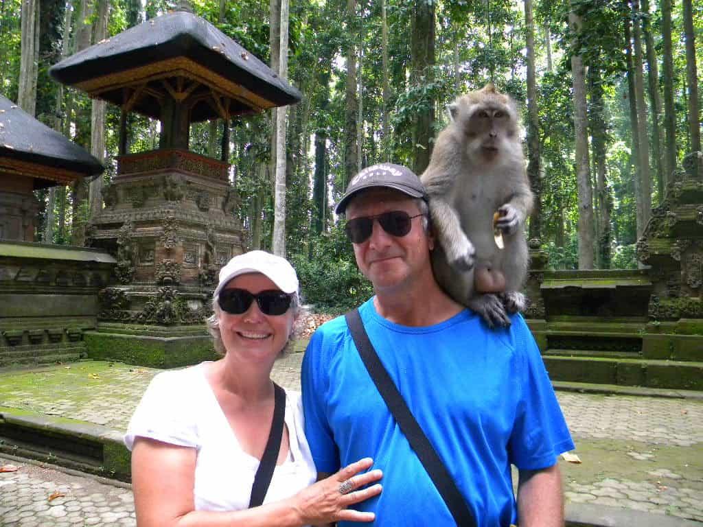 Forêt des singes ubud tourisme bali indonésie