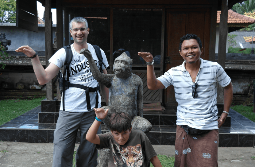 visite de la monkey forest bali