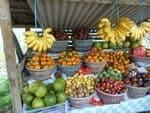 marché fruits exotiques indonésie