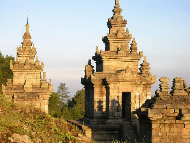 gedong songo temples java histoire
