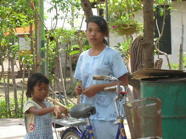gili air ile lombok habitants village