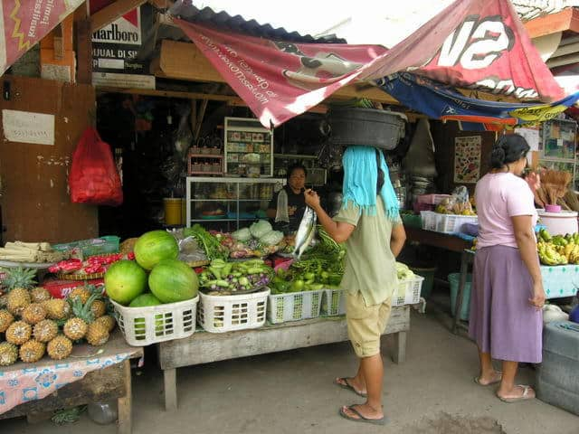 gili air ile lombok village visite