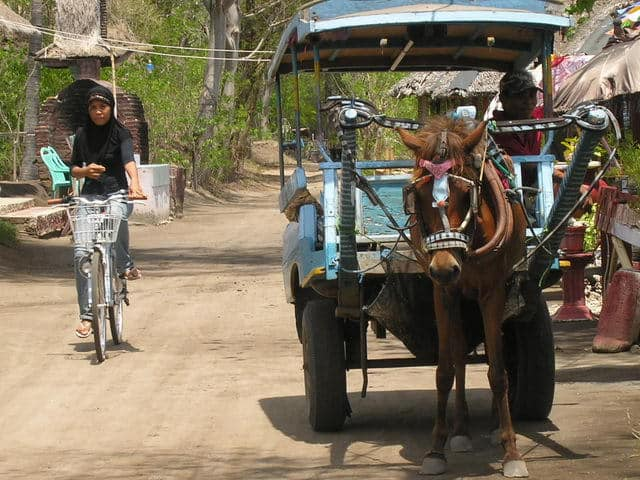 gili air ile lombok village