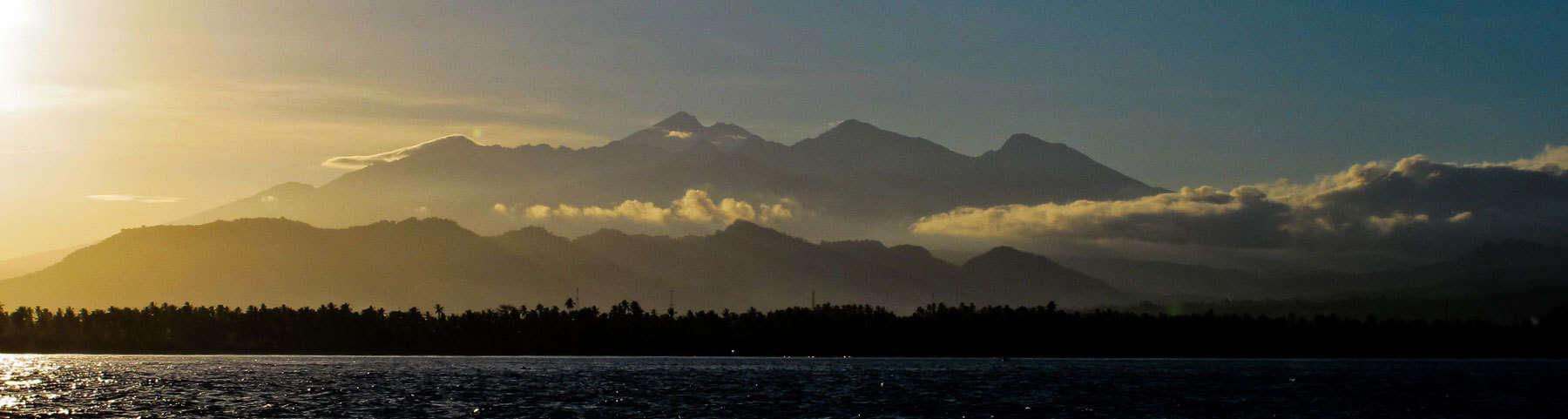 Gili Air volcan Rinjani