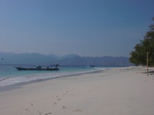 Gili beach meno lombok Indonesie