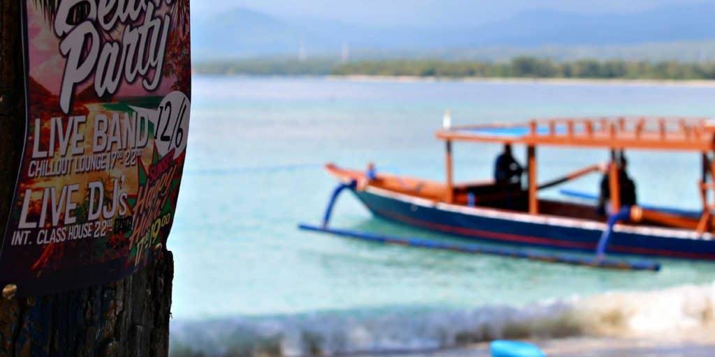 Gili Trawangan bateau snorkeling