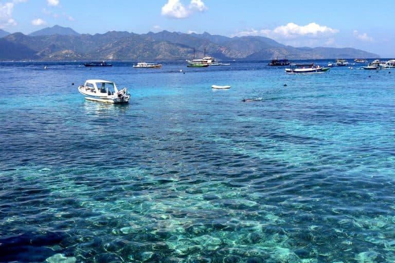 ile gili trawagan bali lombok indonésie