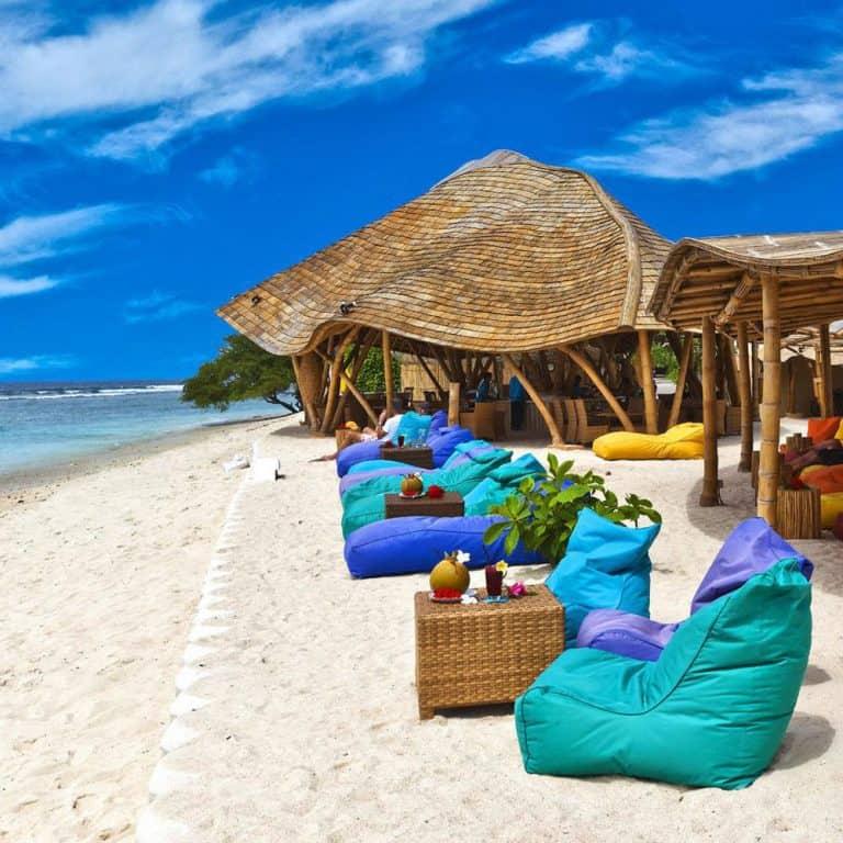 Gili Trawangan bar plage resort voyage Gili Indonésie Lombok