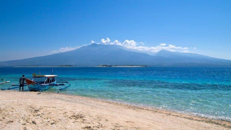 Gili Trawangan plage bateau voyage iles Gili Indonésie Lombok