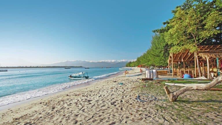 Gili Trawangan plage iles Gili Indonésie Lombok