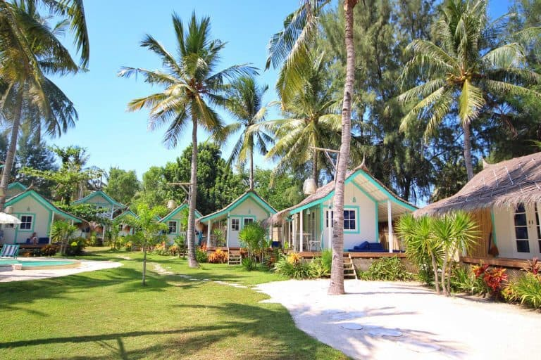 Gili Trawangan bungalows hôtel iles Gili Indonésie Lombok