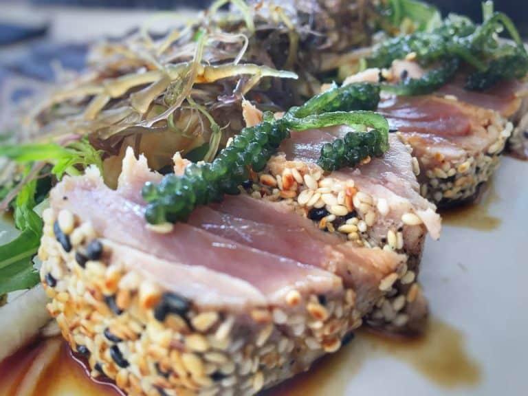 Gili Trawangan où manger tataki au thon restaurant