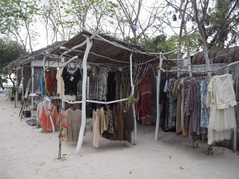 Gili Trawangan shopping plage voyage iles Gili Indonésie Lombok