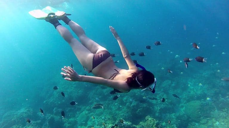 Gili Trawangan snorkeling sexy iles Gili Indonésie Lombok