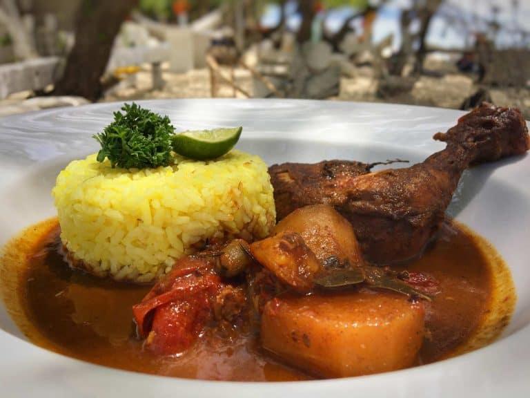 Gili Trawangan où manger curry restaurant iles Gili Indonésie Lombok