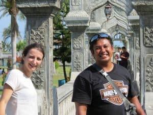 Guide Bali Authentique client Taman Ujung