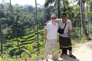 paysage de rizières indonésie