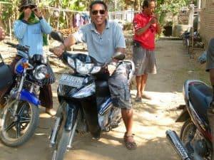 moto bali visite circuit