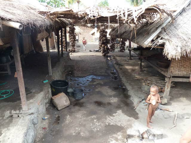 habitation traditionnelle lombok visite