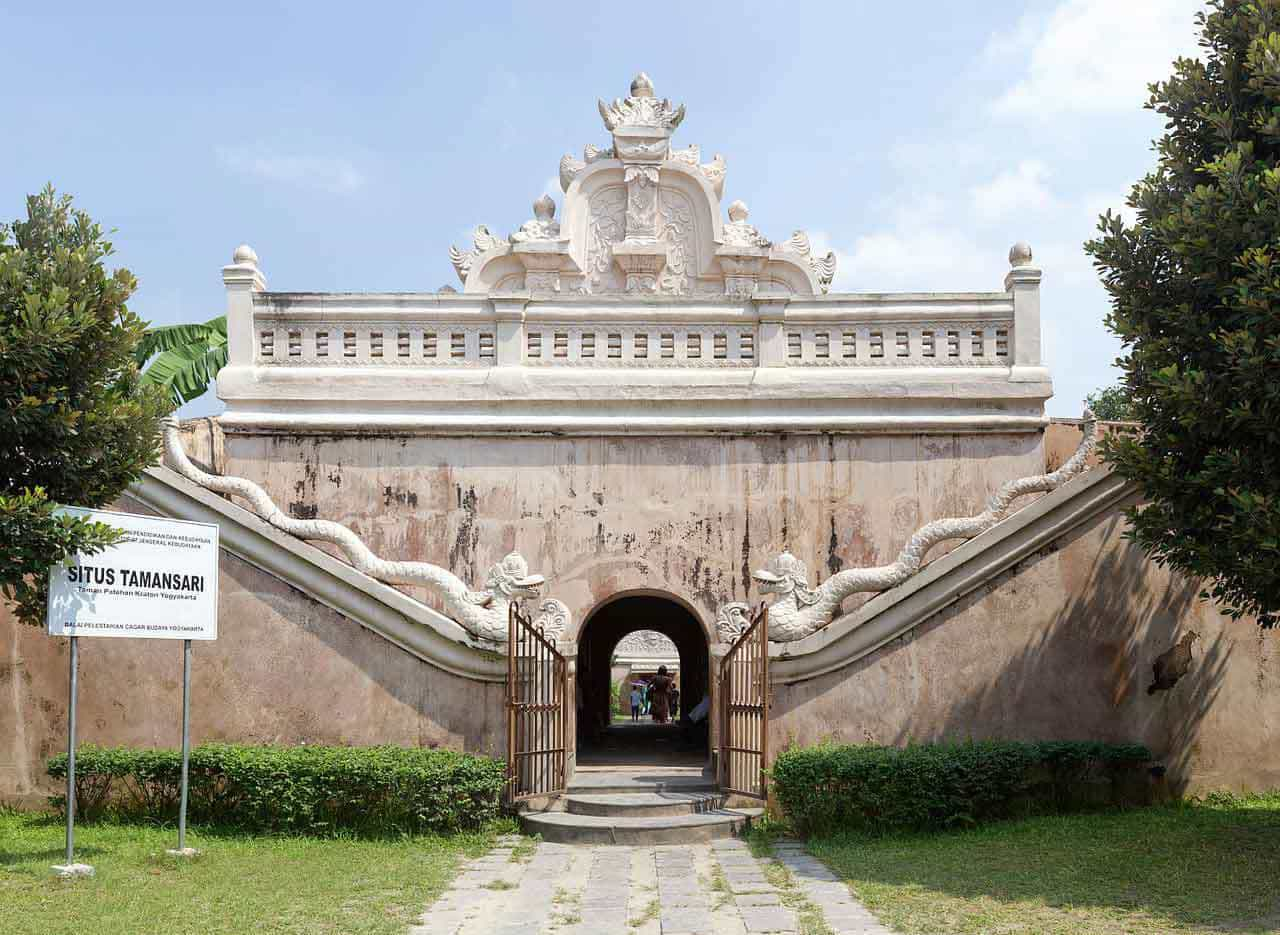 harem palais sultan jogyakarta panorama