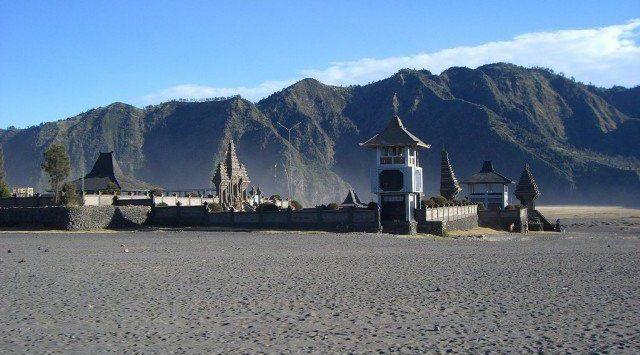bromo volcan java trekking temple