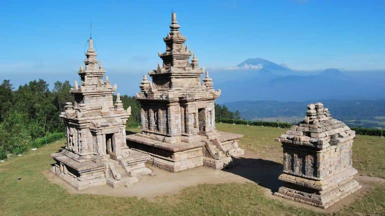 Hindu Temple Indonesia Gedong Songo Temple