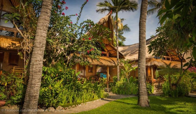 hotel bali amed bungalows typiques