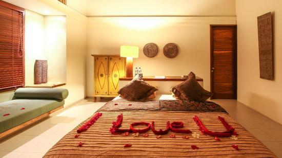 hotel bali amed chambre