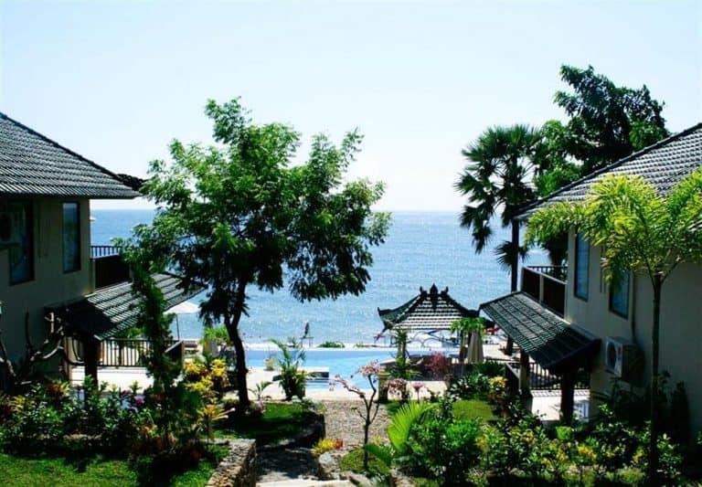 hotel Bali Amed vue océan