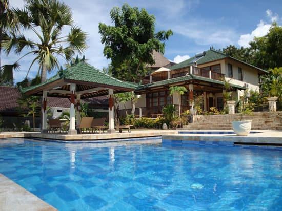 hotel bali amed piscine