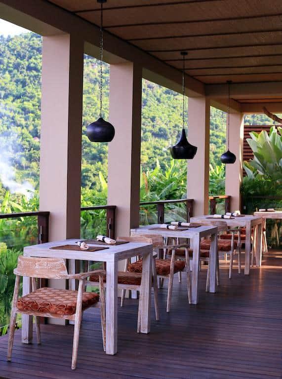 hotel bali amed restaurant